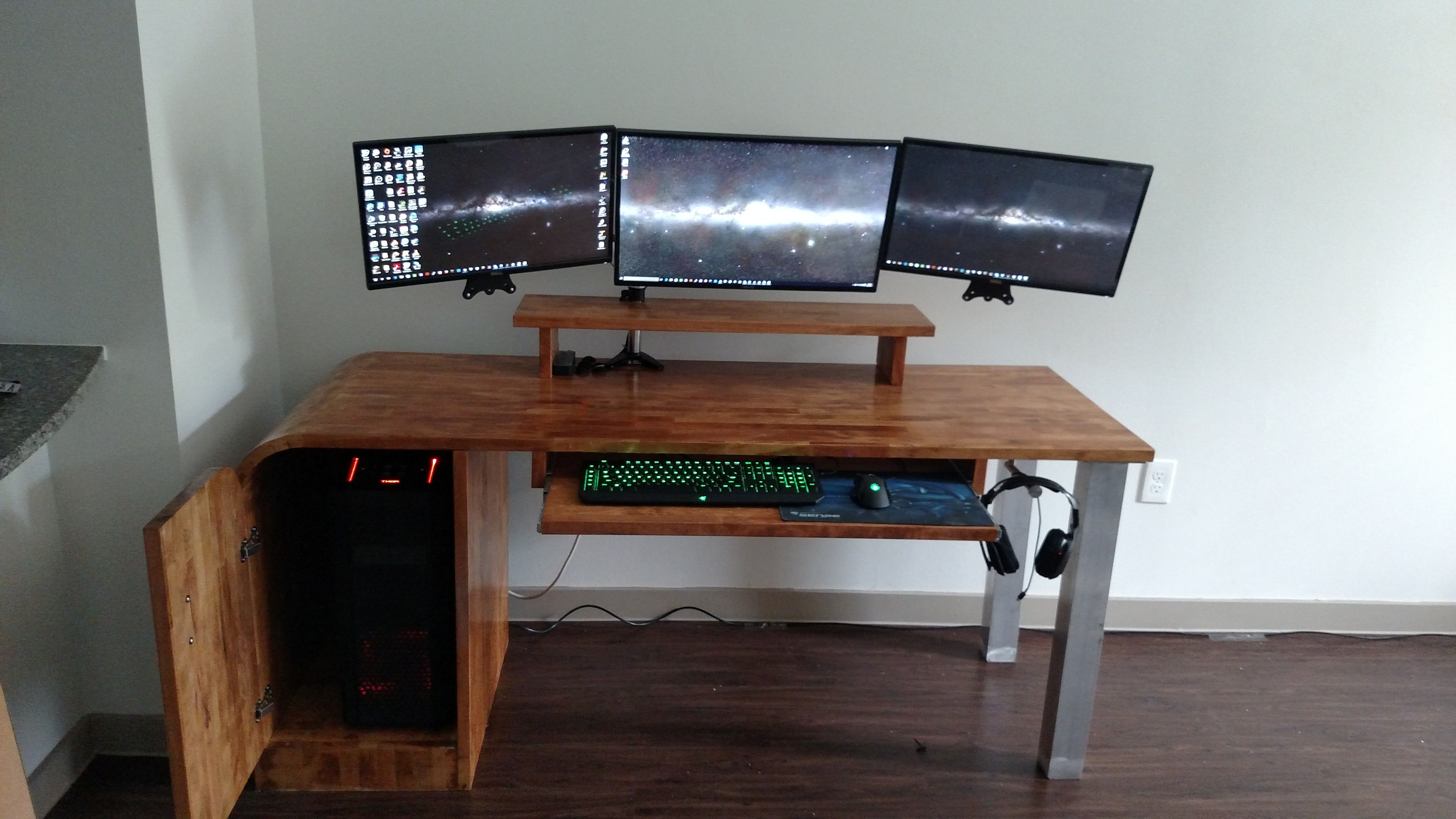 20+ DIY Computer Desk Ideas for Making Your Home Office