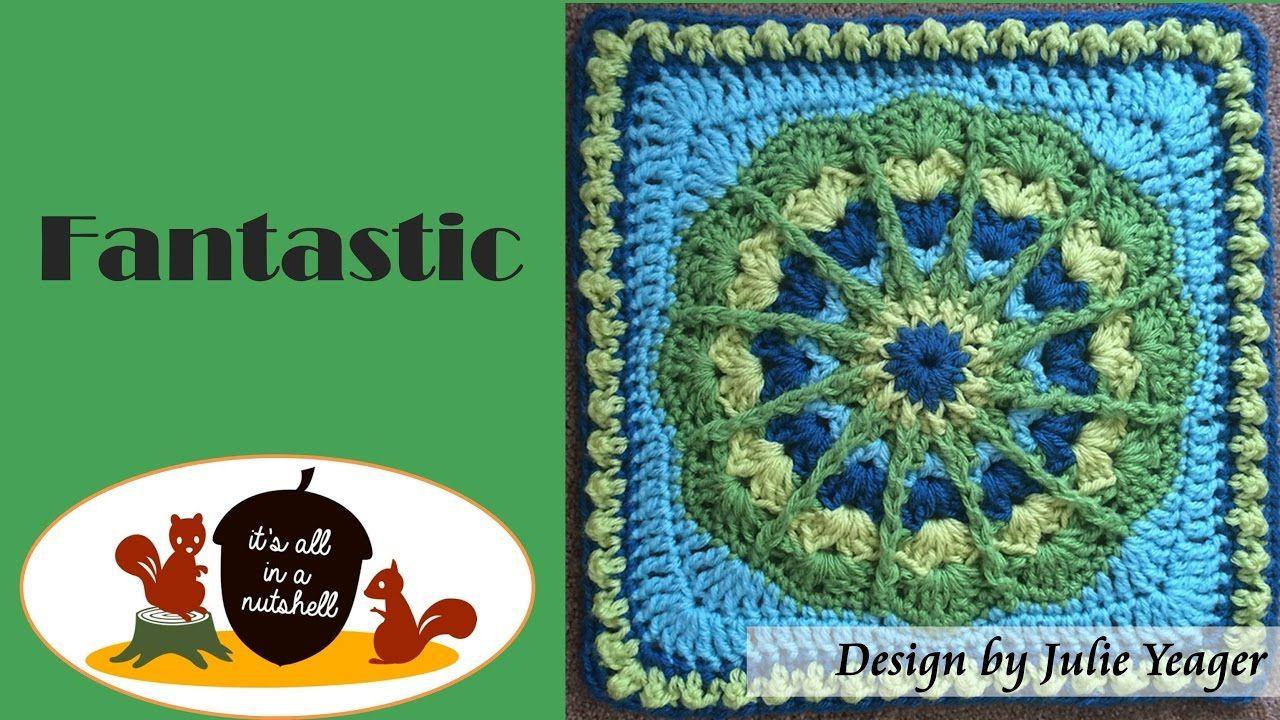 Fantastic - Crochet Square | Mandalas tejidos a crochet | Pinterest ...
