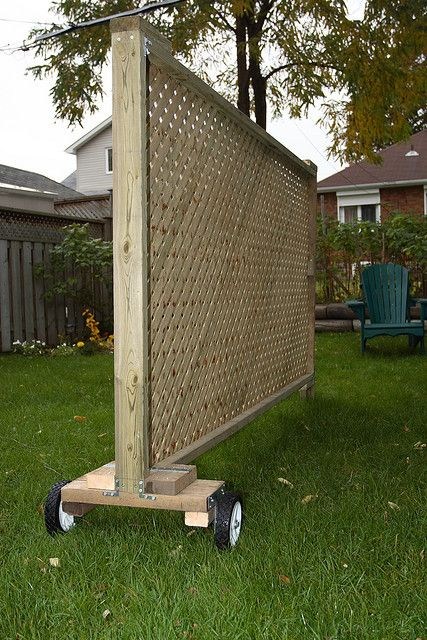 Privacy Screen Garden