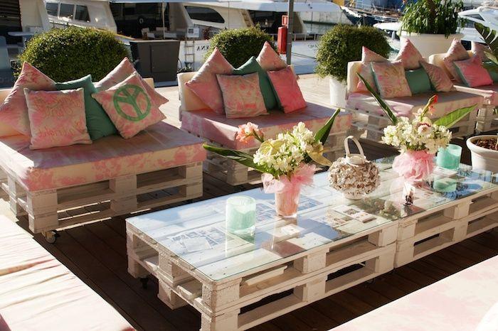 ▷ 1001 + idées pour créer un beau salon de jardin en palette | DIY ...