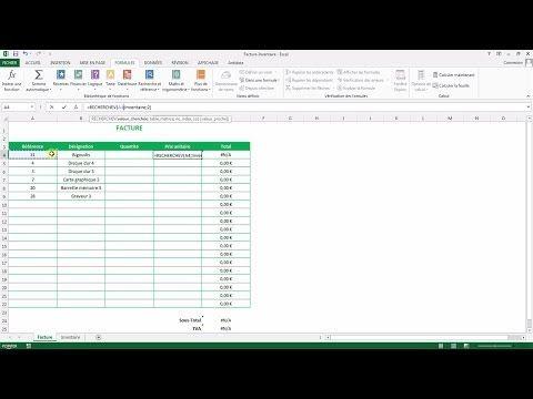 À quoi sert la recherchev sous Excel et comment l'utiliser ? - YouTube