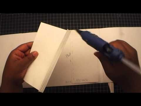TUTORIAL: 8X8 PHOTO FOLIO - YouTube