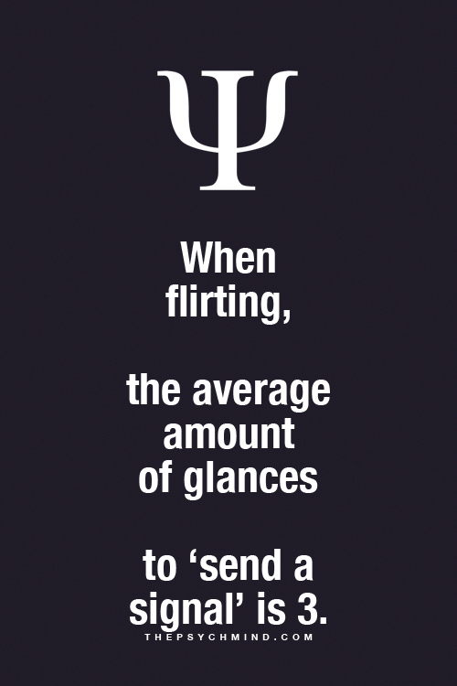 flirter psychologie)