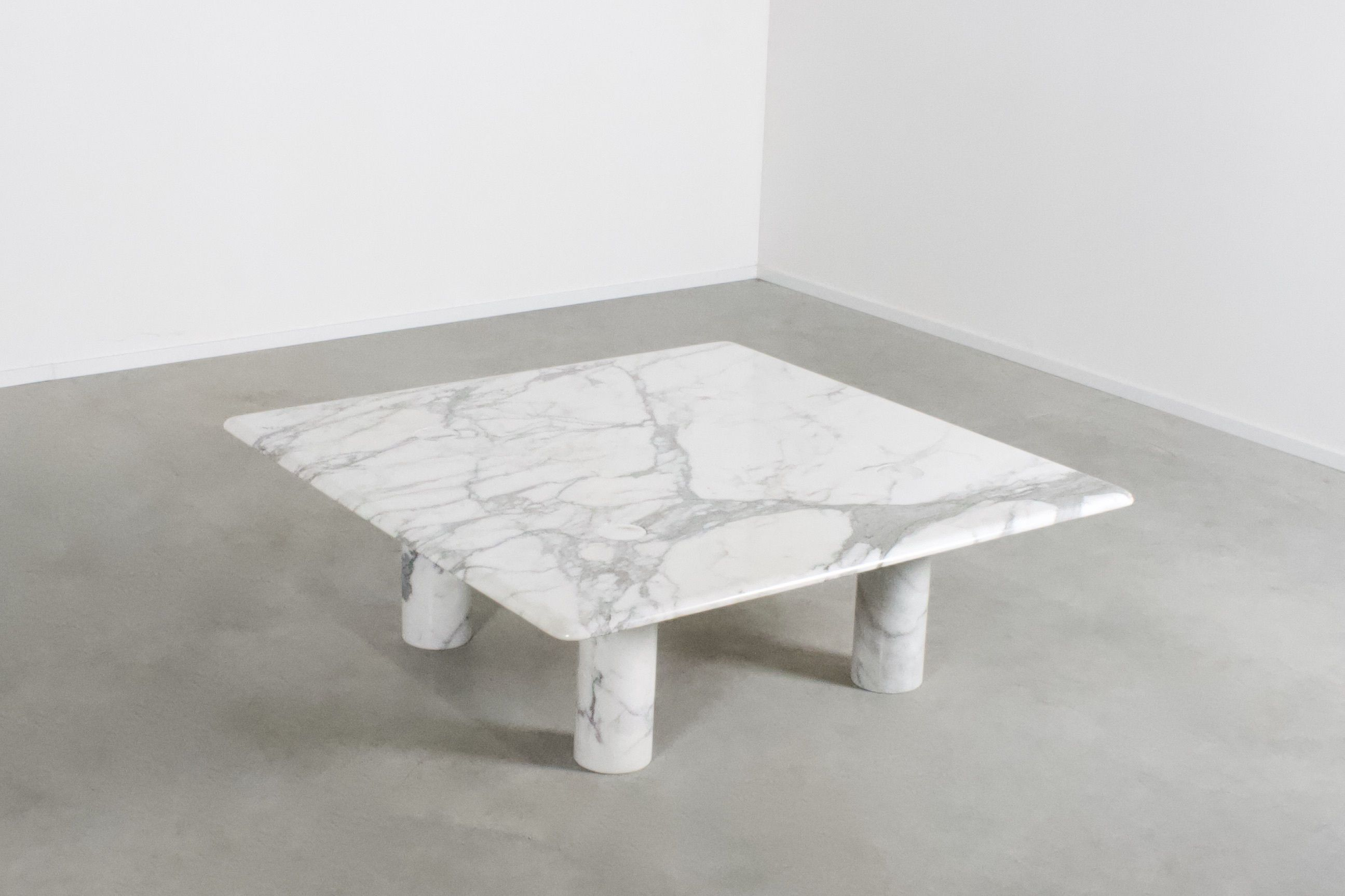 Large Angelo Mangiarotti Carrara Marble Coffee Table For Up Up Italy 1970s In 2020 Coffee Table Marble Coffee Table Coffee Tables For Sale