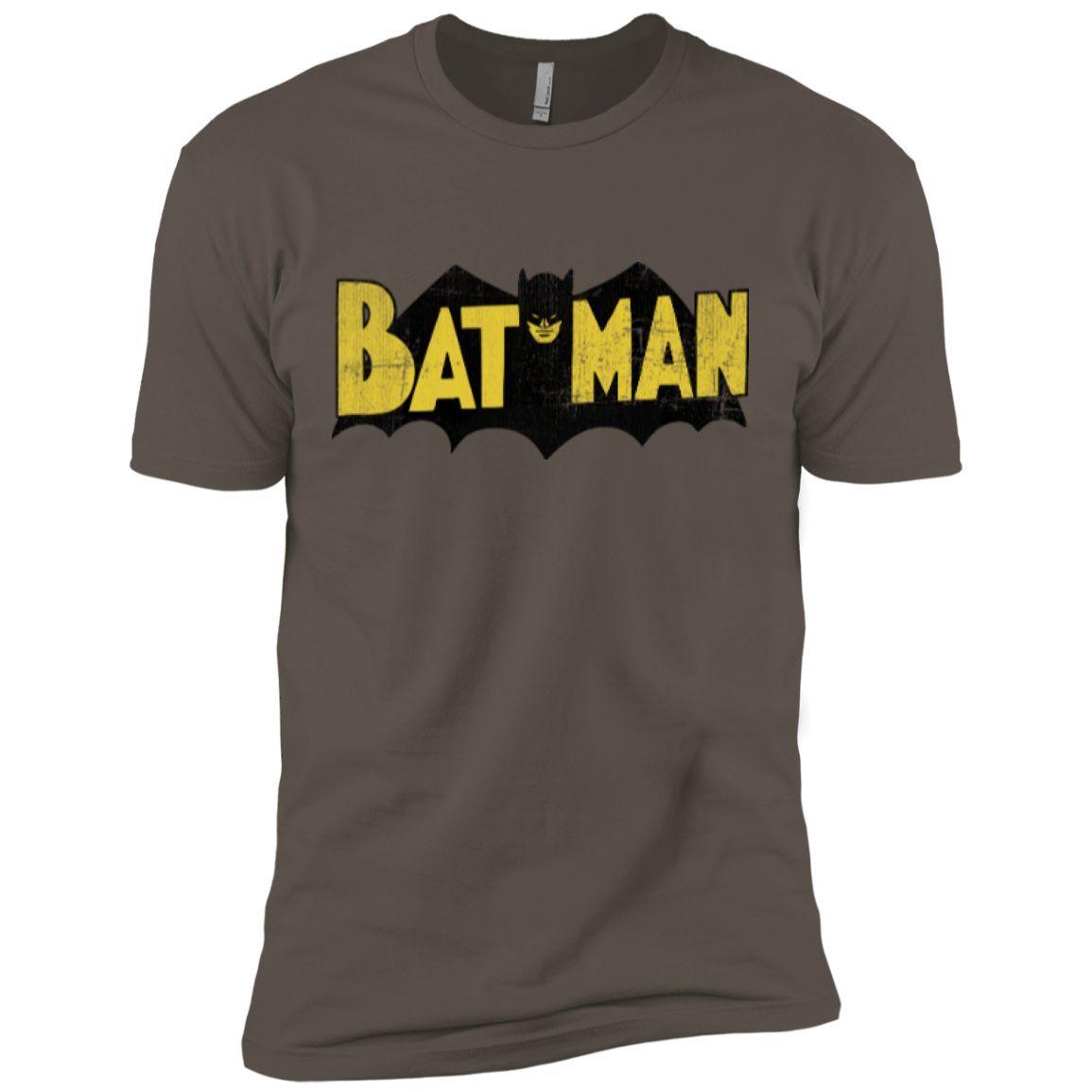 Vintage Batman Logo Next Level Premium Short Sleeve Tee