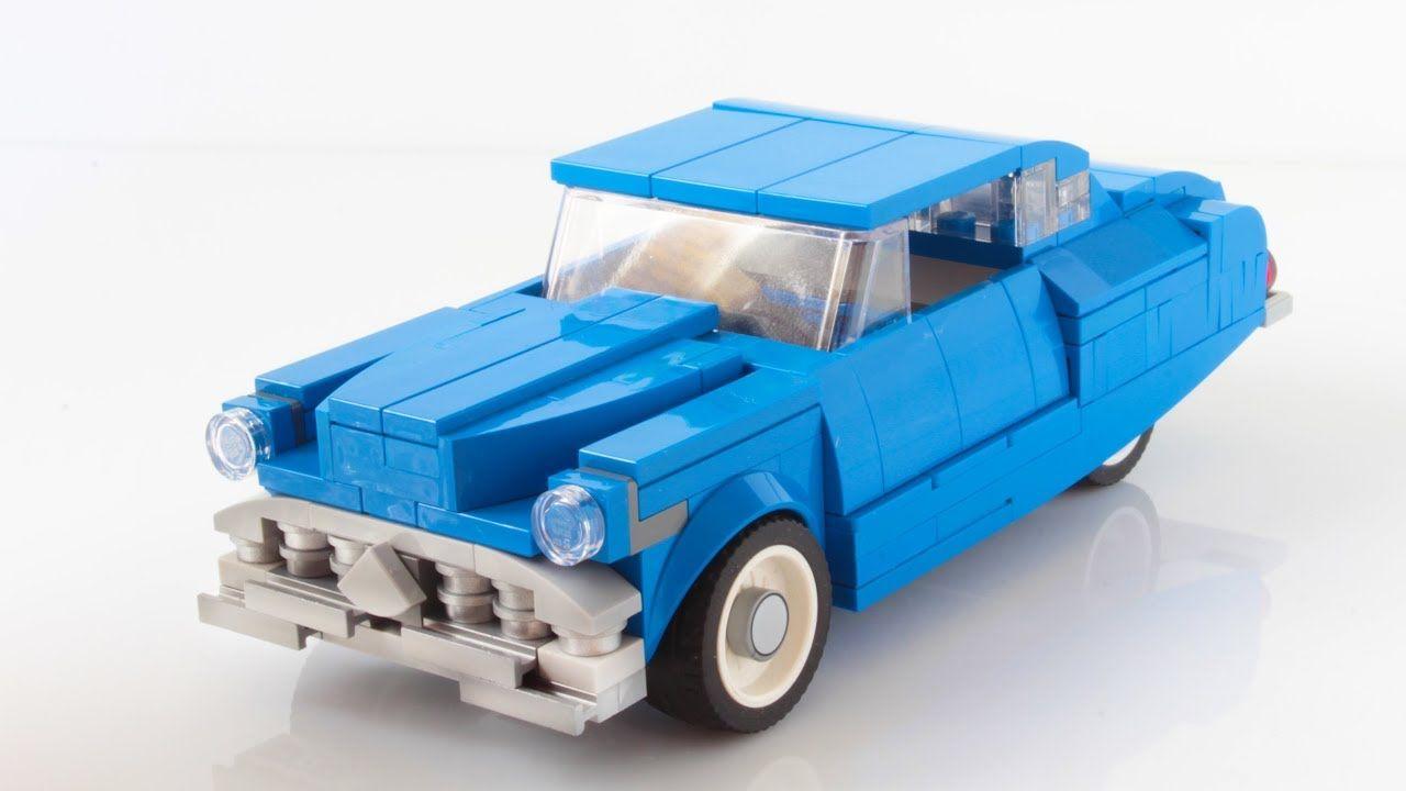 Lego Hudson Hornet Moc With Instructions Lego 6 Wide Cars Lego