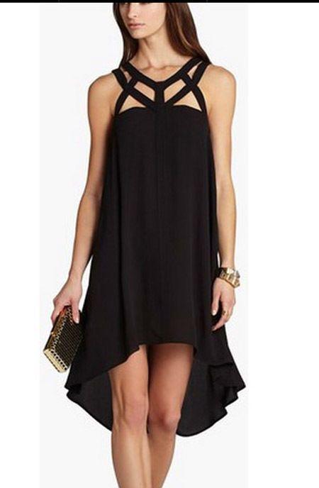 198 Bcbg Black Babette Sleeveless Dress Nwt Xxs Beautiful