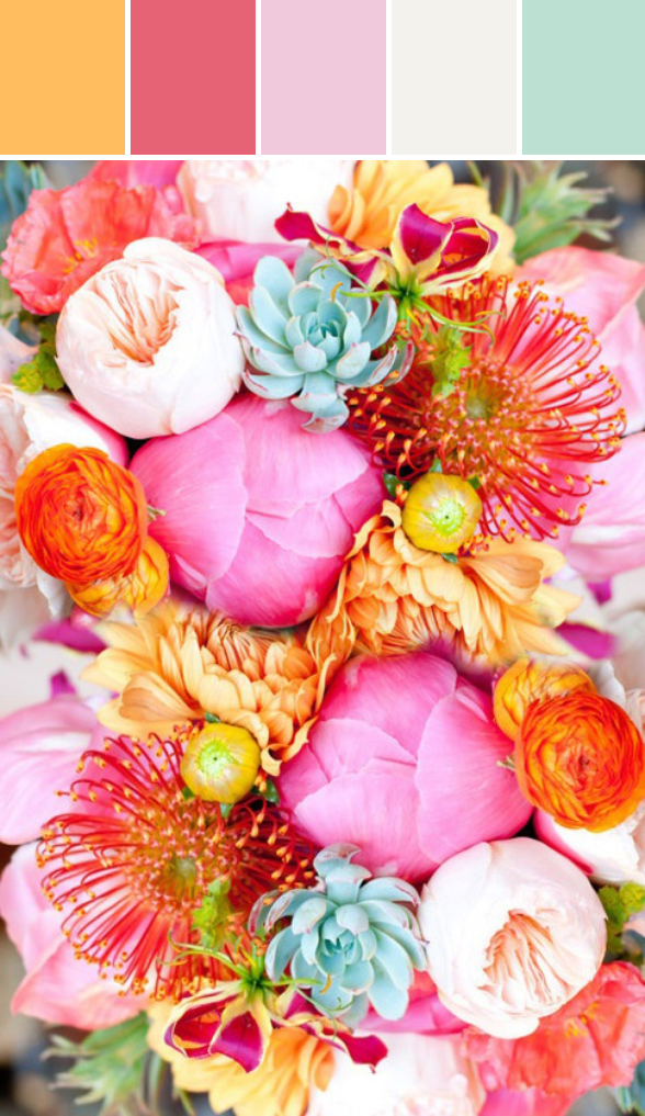 10 Palettes Spring 2014 Wedding Colors Colors To Inspire