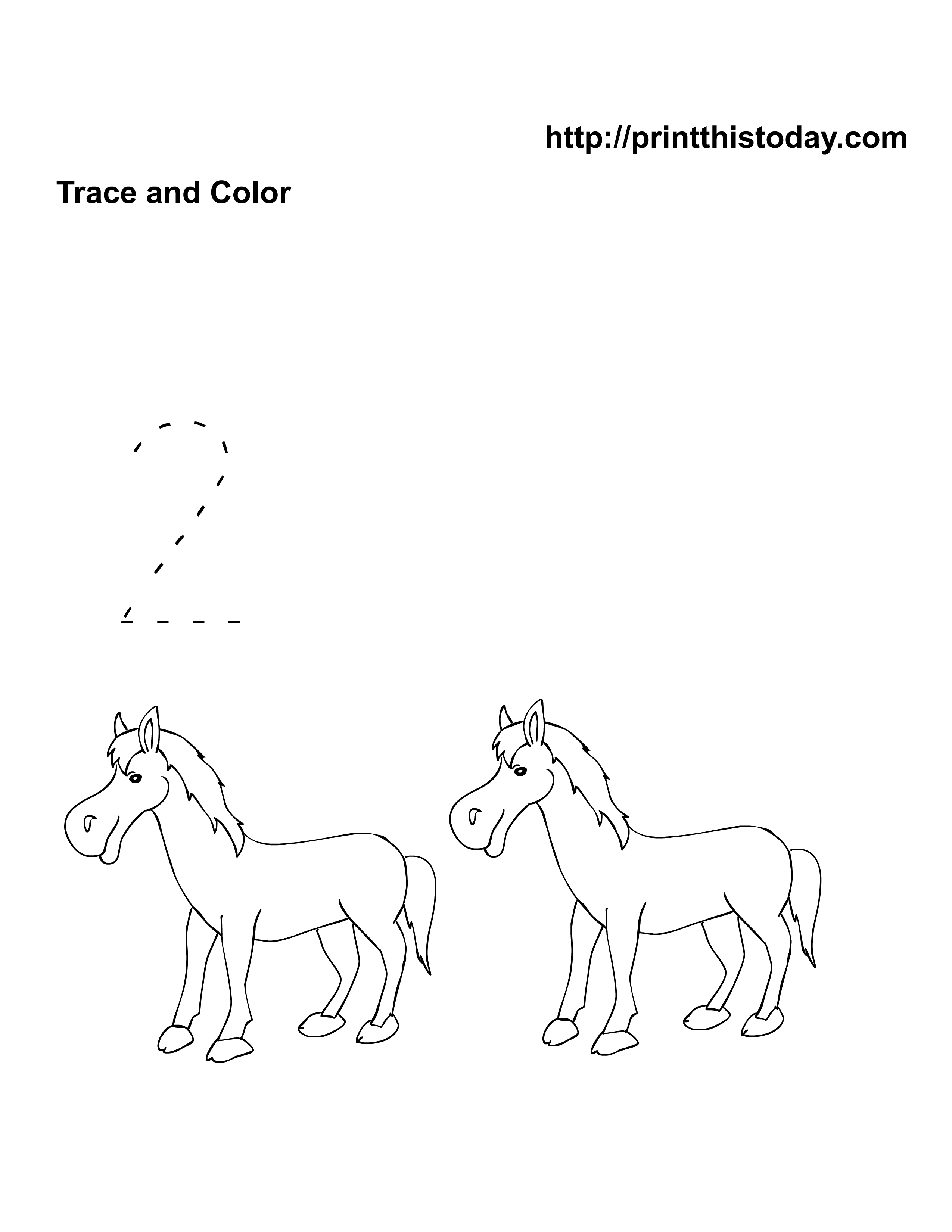 Free Pre School Kindergarten Animals Math Worksheets Com