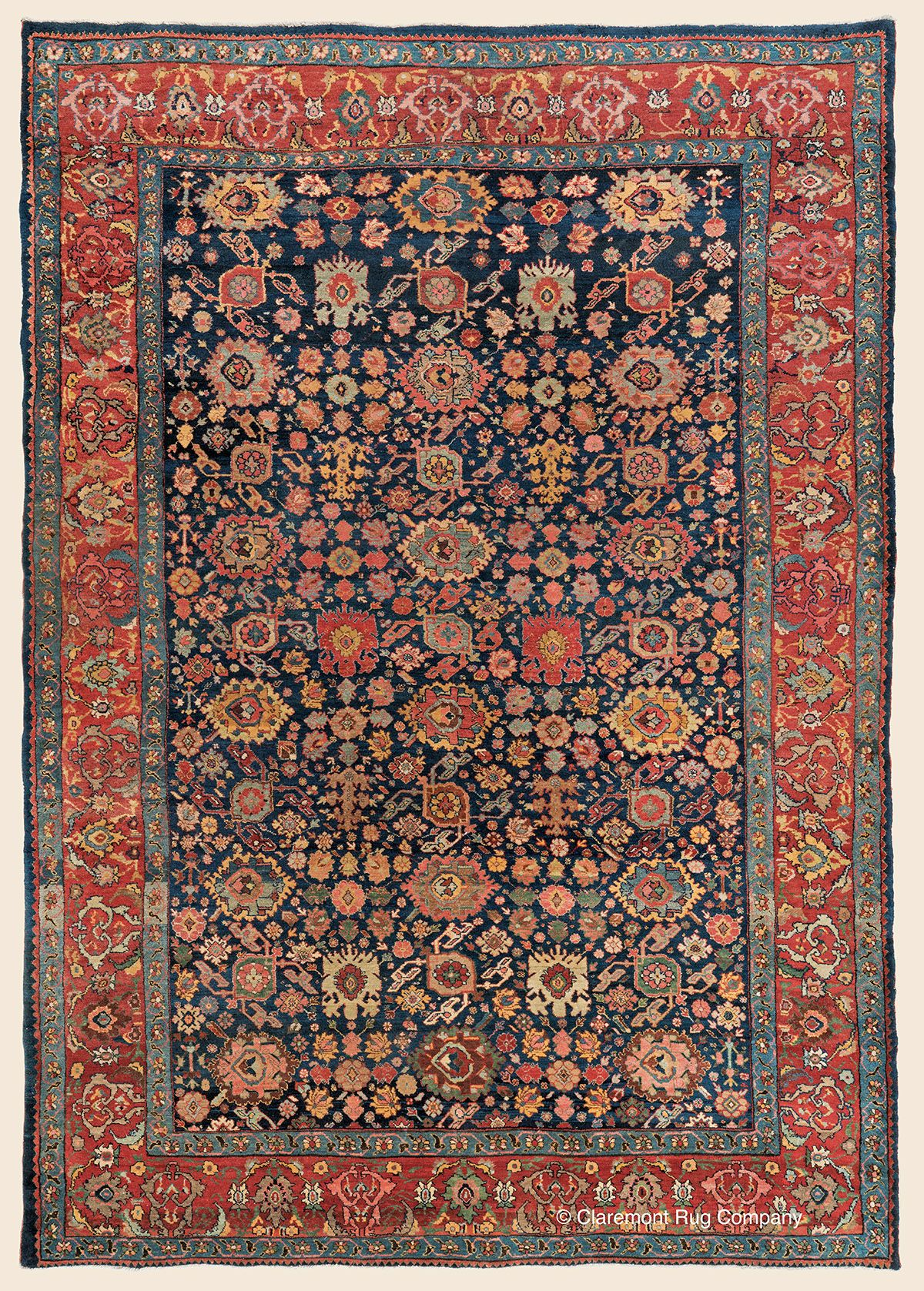 Bijar 7 8 X 10 9 Circa 1900 Northwest Persian Antique Rug Claremont Rug Company Click To Learn More About Th Claremont Rug Company Rugs Rugs On Carpet