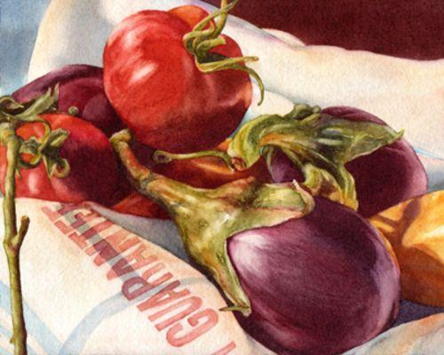 Kathrine Lemke Waste | Watercolor paintings, Watercolor, Art