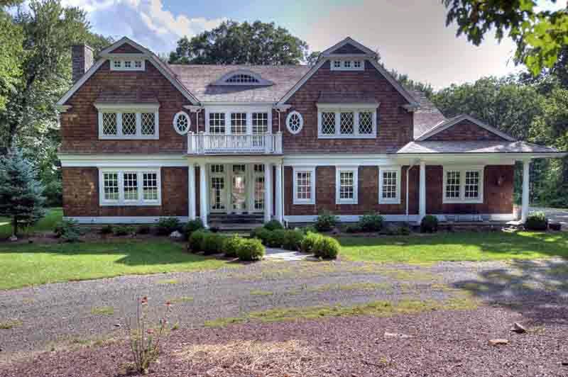 Classic shingle style house plans