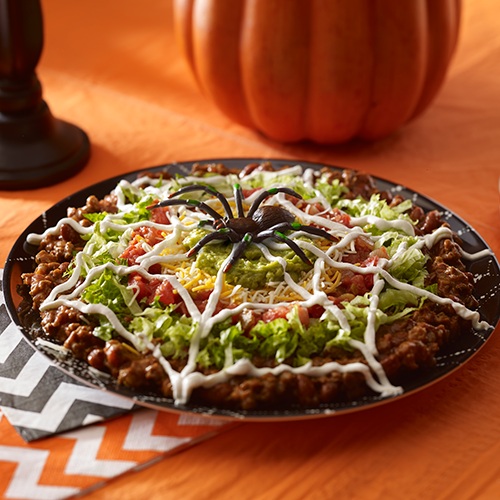 Spidery Nacho Dip … Halloween dishes, Halloween food for