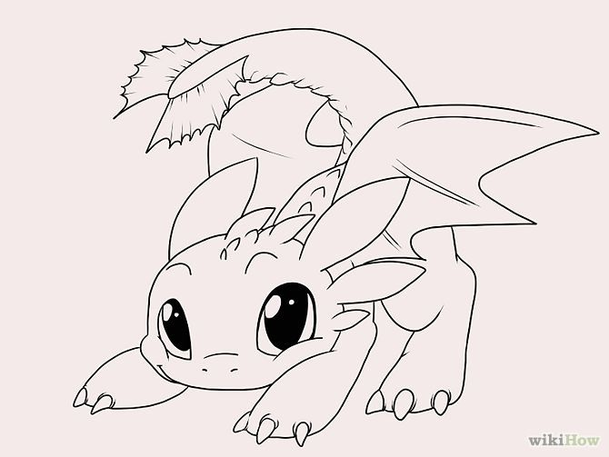 Draw Toothless Toothless Drawing Easy Dragon Drawings Dragon