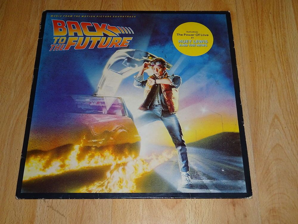 Back To The Future Original Soundtrack Uk Vinyl Lp Vinyl Music Soundtrack Back To The Future