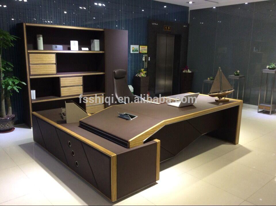 Source W 05 Ashley Furniture Office Desk On M Alibaba Com Office Furniture Design Executive Office Design Interior Cheap Office Furniture