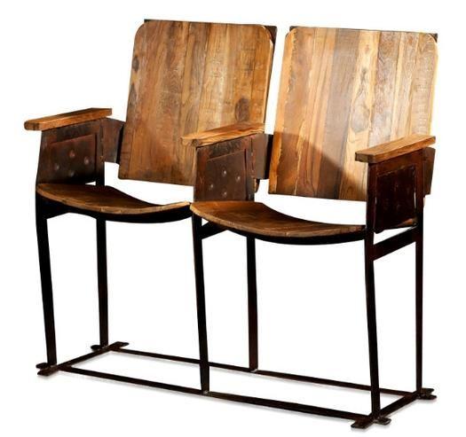 Retro Kinositze India industrielle Möbel bei Möbelhaus