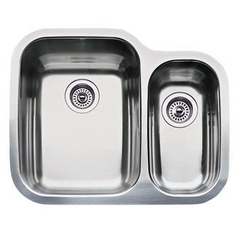 Blanco 440163 Supreme Double Basin Stainless Steel Kitchen Sink 25 3
