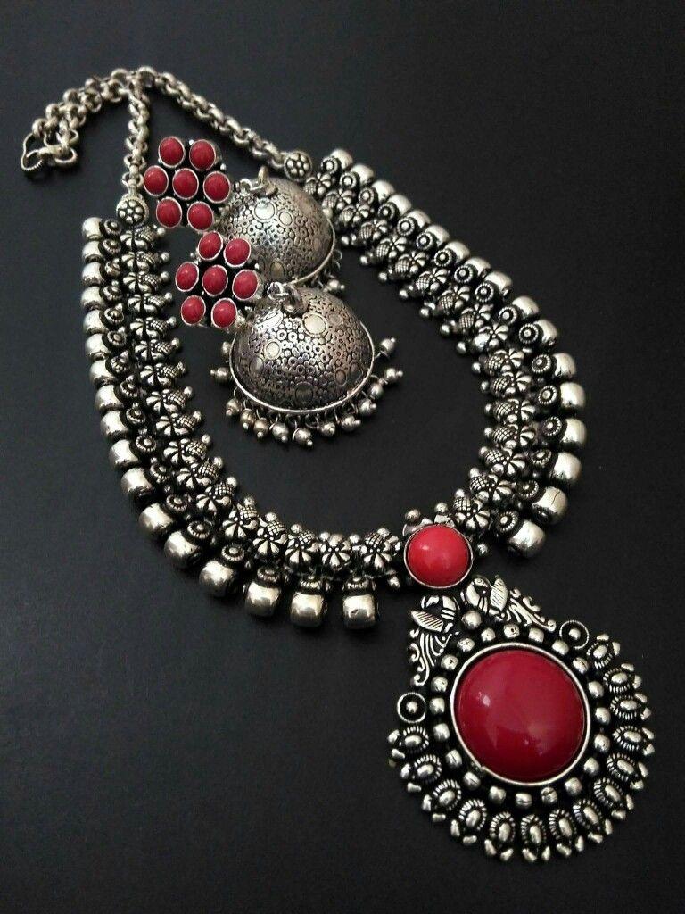 Pin by Teju Reddy on silver jewellery | Pinterest | Silver jewelry ...