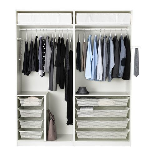 pax kleiderschrank wei closets pinterest ikea pax kleiderschrank ikea pax und pax. Black Bedroom Furniture Sets. Home Design Ideas