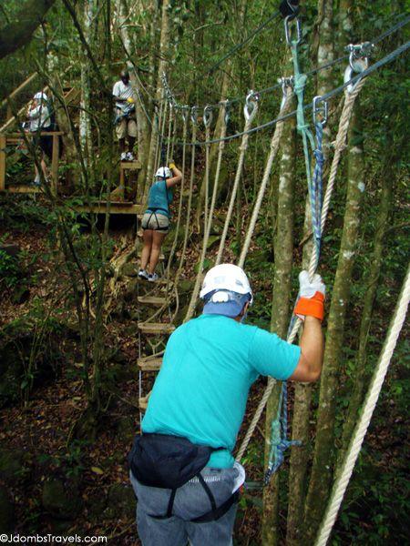 Antigua Rainforest Zip Lining