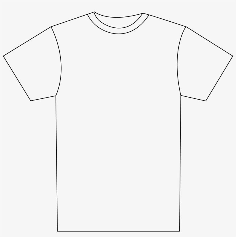 T Shirt Design Template Png Shirt Outline Free Regarding Blank T Shirt Outline Template T Shirt Design Template Blank T Shirts Shirt Designs