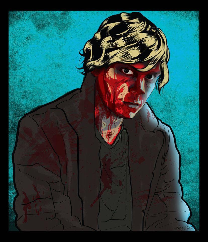 American Horror Story Tate Langdon by mutantmuffinz