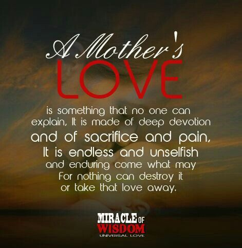 A Mother S Love You Never Truly Understand How It Feels Until You