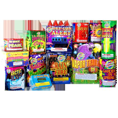 Phantom Fireworks® Grand Finale Assortment: This assortment