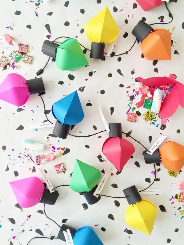 sisterMAG DIY Adventskalender Spezial  sisterMAG21  Paper Fairy Lights von Ho   Ideas