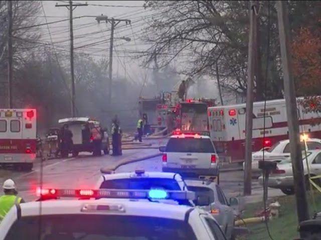 Reuters Nine killed as business jet hits buildings in