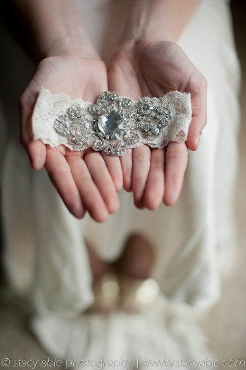 Liguero para novia/Bridal garter
