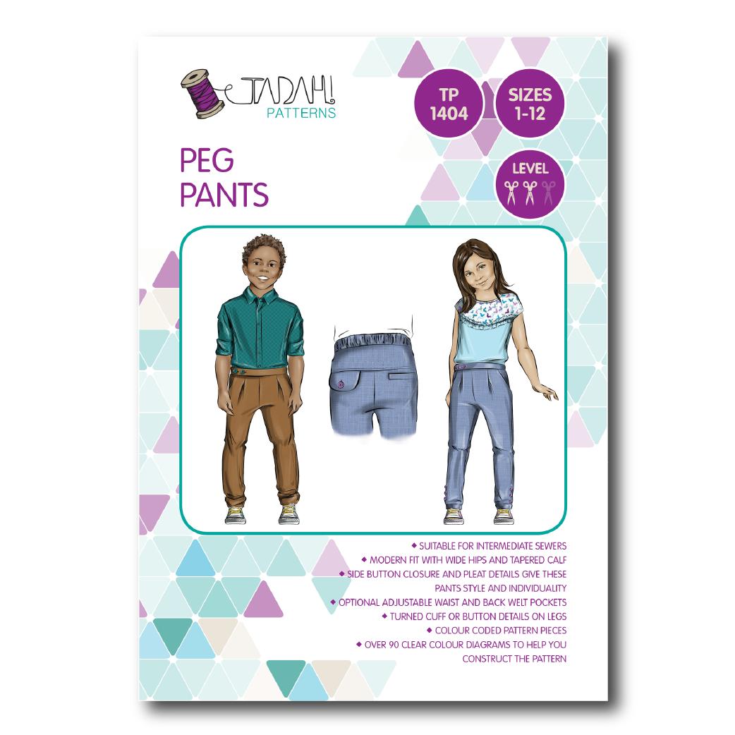 Peg pants sewing pattern inspiration garon patron pinterest peg pants sewing pattern jeuxipadfo Image collections