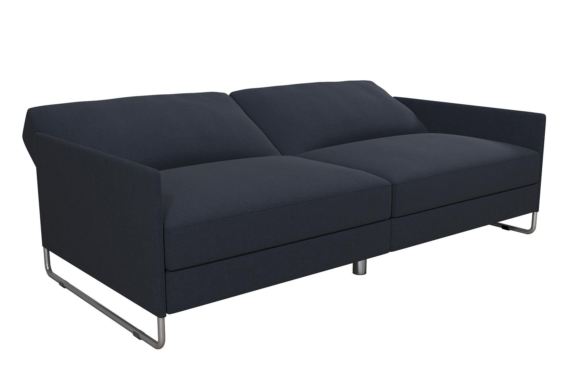 Dhp Pembroke Convertible Futon Sofa Bed Navy Want Additional