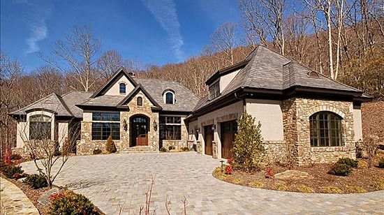 French country windows exteriors on pinterest stone for French country houses for sale
