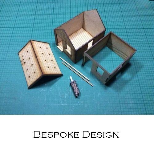 Intentio Design | Laser cut architectural and replica railway model