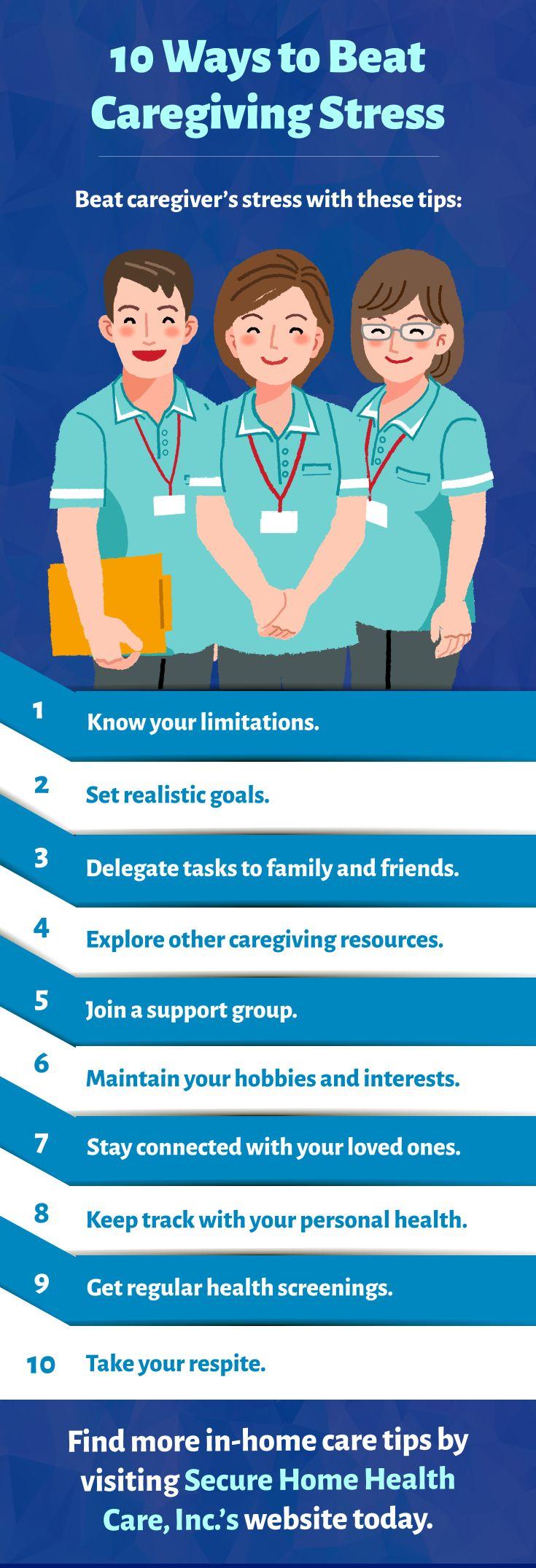 10 ways to beat caregiving stress caregiving