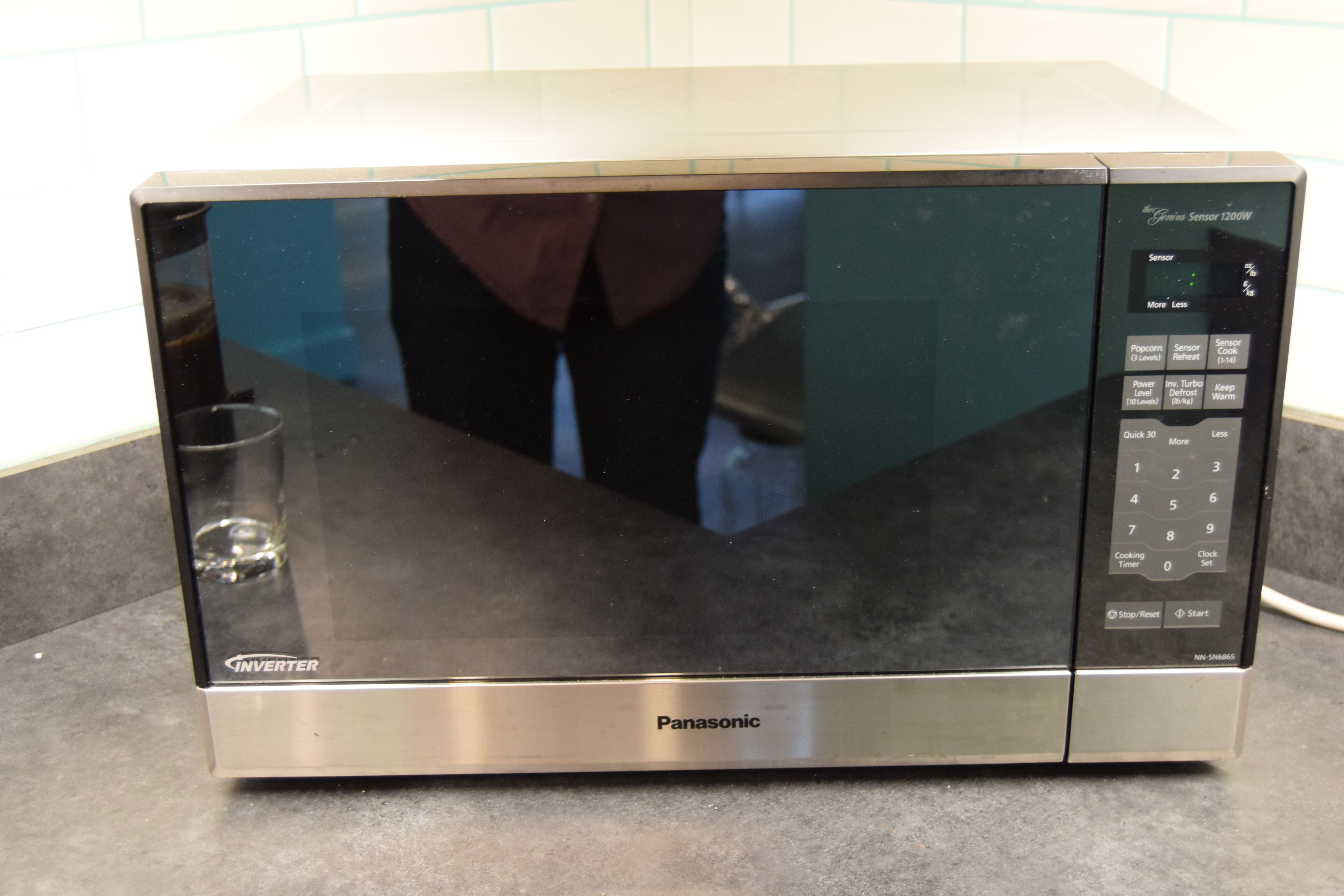 43 Panasonic Nn Sn686s Countertop Built In Microwave With