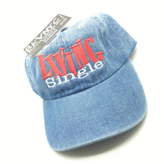 Denim Living Single Sitcom TV Show Dad Cap by BrooklynVintageNYC 34e3372c76b