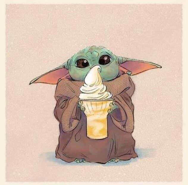 Baby Yoda Credit J Shari Ewing On Instagram Star Wars Drawings Star Wars Fan Art Yoda Art