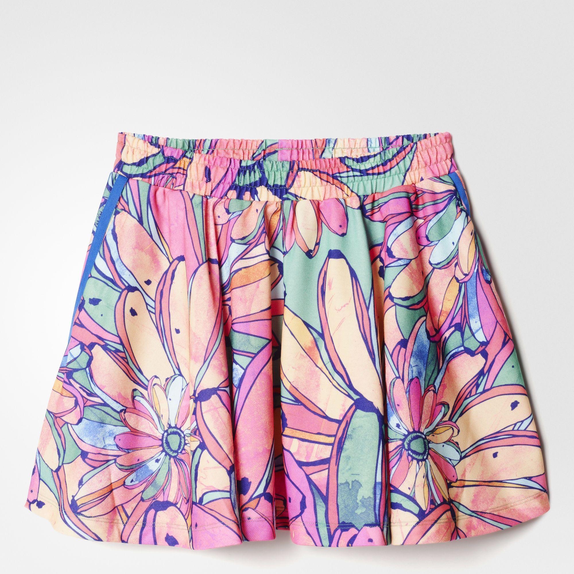 2b6517a1e77 Adidas Originals Bananas Flared Skirt | BanAna | Adidas, Skirts ...