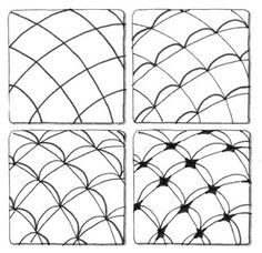 Zentangle Patterns Step by Step |     steps zentangl tuto doodl