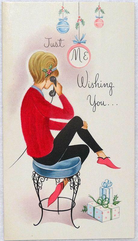 Vintage Christmas Card   Flickr - Photo Sharing!