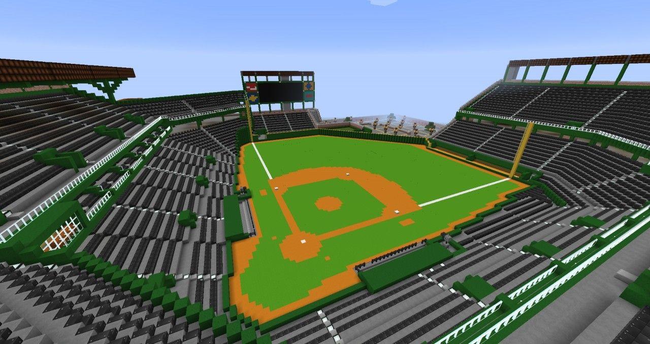 Baseball Stadium Minecraft Project