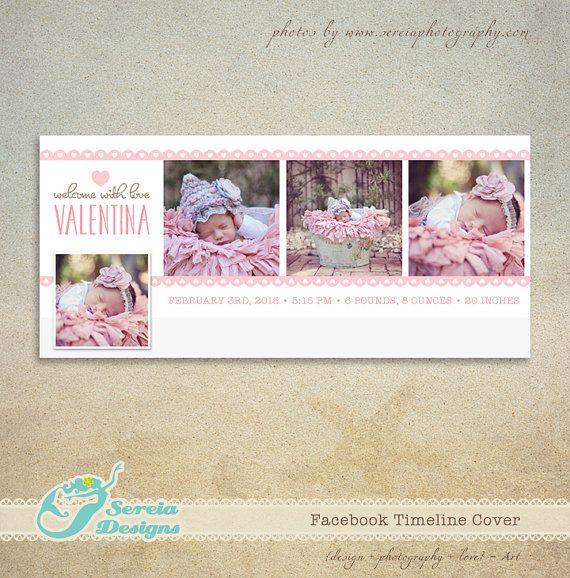 Plantilla de Valentine Timeline de Facebook por SereiaDesigns ...