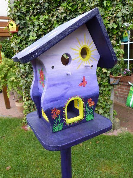 Vogelhäuser Futterhaus Vogelhaus Vogelvilla Nistks von spyke-1970 auf DaWanda.com