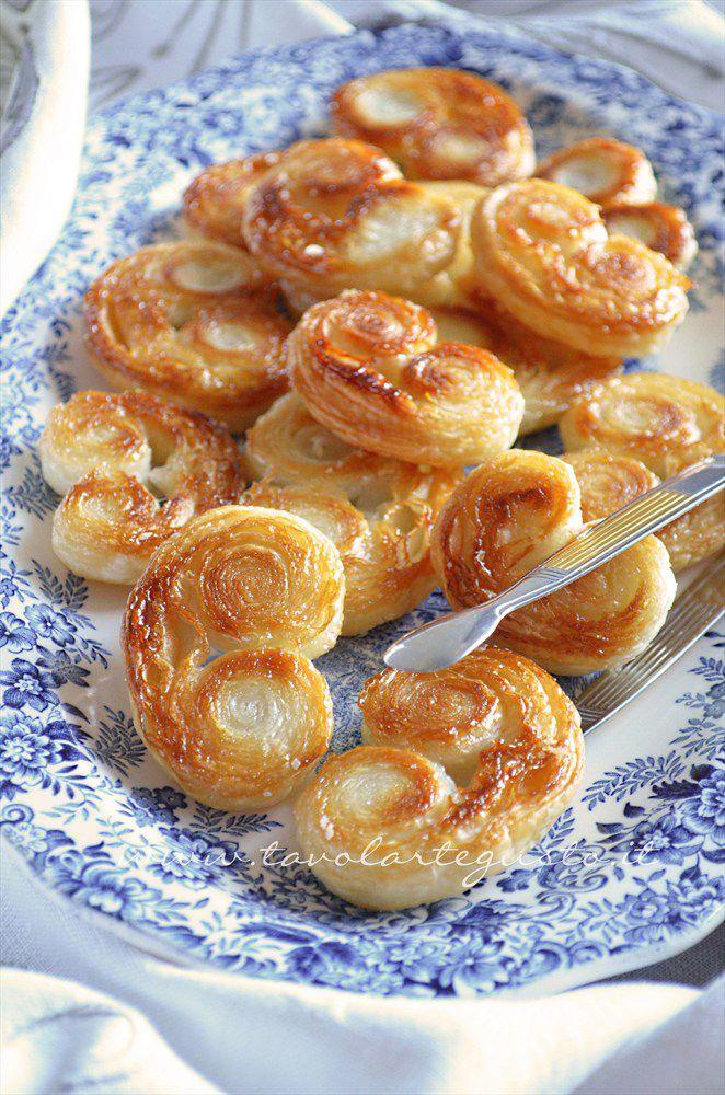 Biscotti con pasta sfoglia pronta ricette