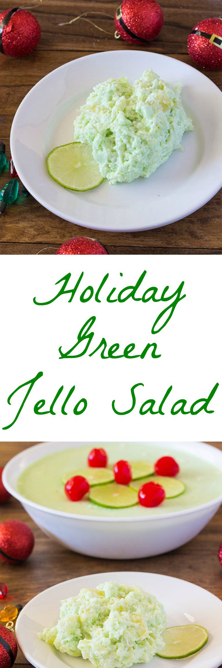 Vintage Jello Salad recipe using jello, pineapple, cream cheese, and whipped topping.