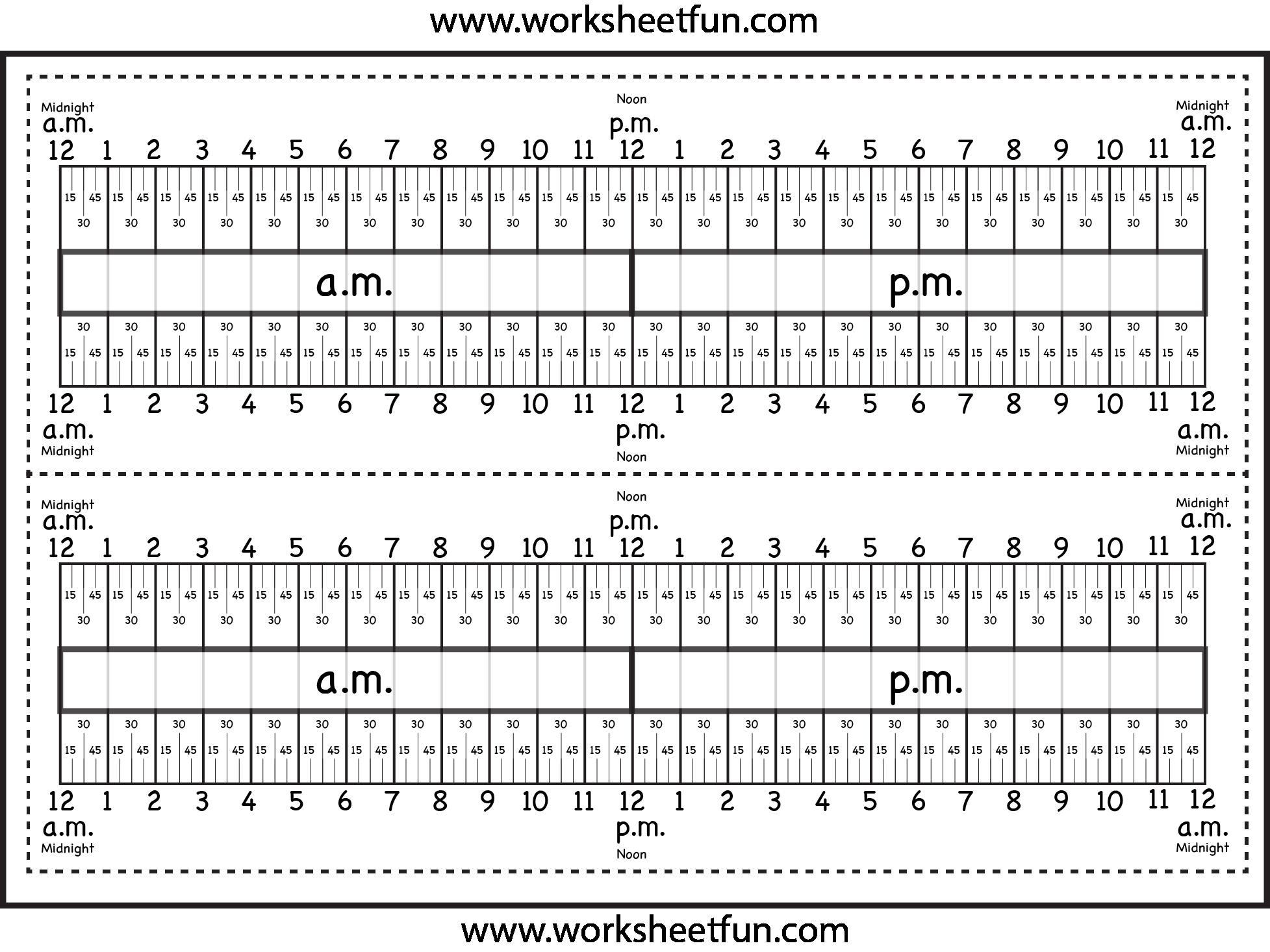 medium resolution of Level 3 – Elapsed Time Ruler – Two Worksheets   Time worksheets