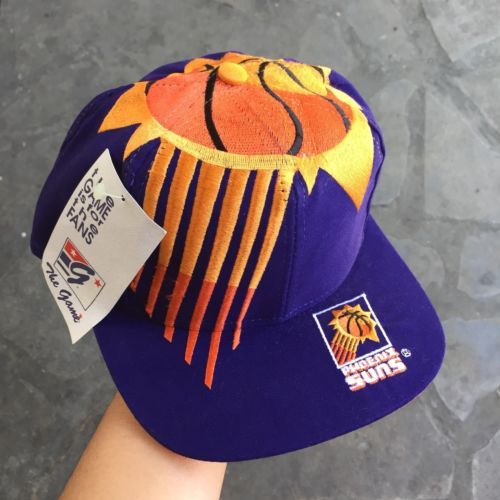 cb72bf73 Vintage Phoenix Suns The Game Big Logo Snapback Hat Cap Rare New Deadstock  please retweet